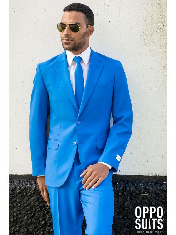 Check out Men's Opposuits Blue Steel Suit Costume - Popular Costumes for Adults from Costume Super Center