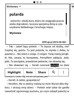 Kolejny słownik języka polskiego dla Kindle: SJP.pl spotyka Wikisłownik! | Świat Czytników