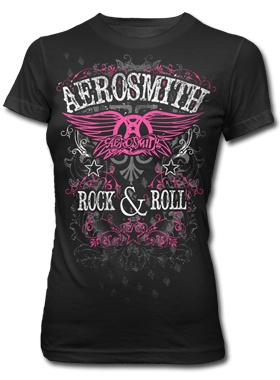 Aerosmith Rock N Roll Diamonds T-shirt | AeroForceOne