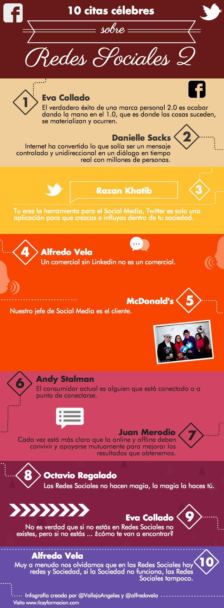 10 citas célebres sobre Redes Sociales 2