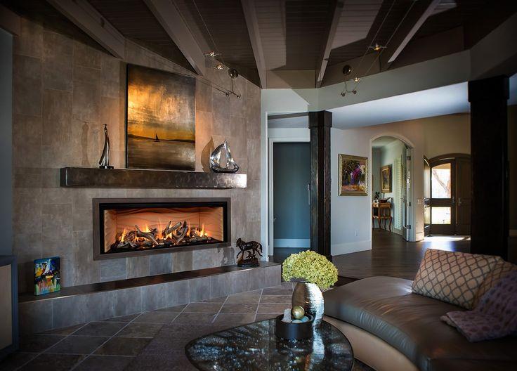15 best FullView Modern Linear Gas Fireplace images on Pinterest ...