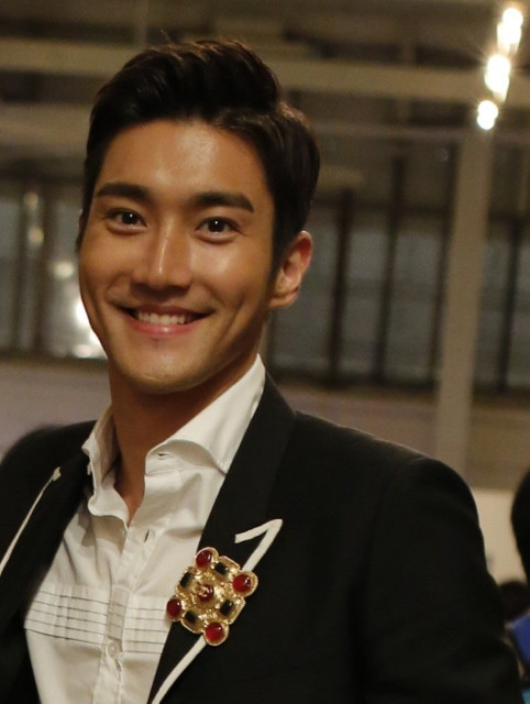 Siwon--many people just smile with their face, Siwon smiles with his heart.