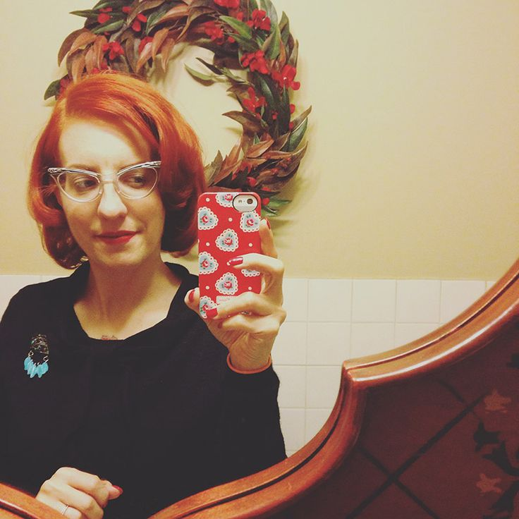 New haircut for a ginger Marilyn-inspired look | By Gum, By Golly