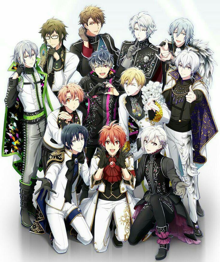 「manga group」おしゃれまとめの人気アイデア|Pinterest|Bibsanga アイドリッシュ