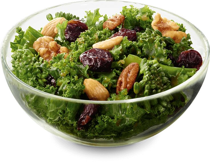 Chopped Broccolini® and kale blend, tossed in a sweet and tangy maple vinaigrette and topped with flavorful dried sour cherries. Served with our roasted nut blend.