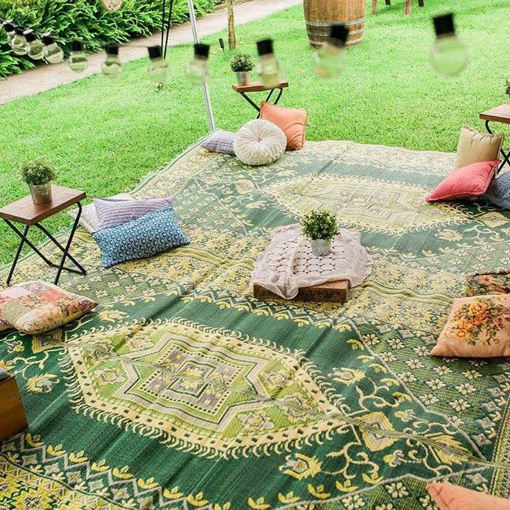 Want to create a picnic wedding or engagement party? We have you covered. Rugs, pillows, tables and props. #vintage #retro #picnic #wedding #engagement #innerwest #drummoyne #mr #mrs #ido #bride #groom #interior #green