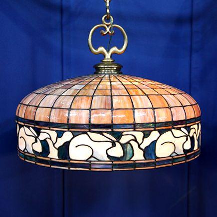 Rabbit toadstool american arts crafts chandelier ca antiques road show portland or