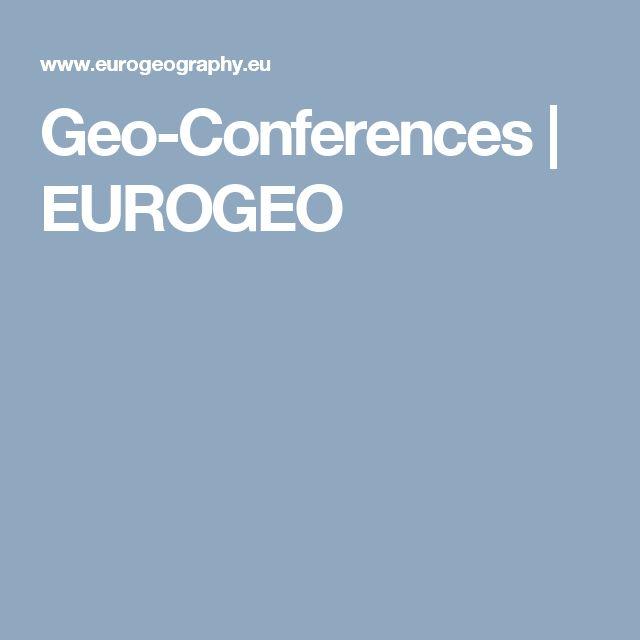 Geo-Conferences | EUROGEO