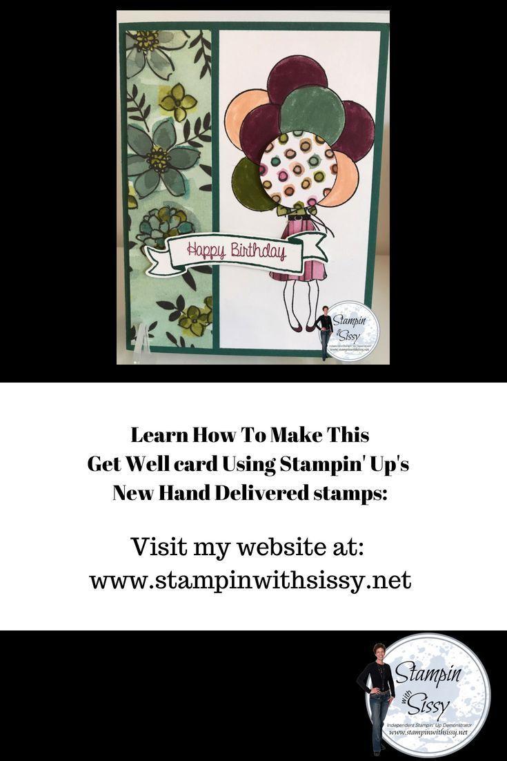 Super Simple Birthday Card Using Stampin Ups Hand Delivered Stamp Set