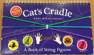 Toy Deals for Charity: Cat's Cradle book arrived in the mail
