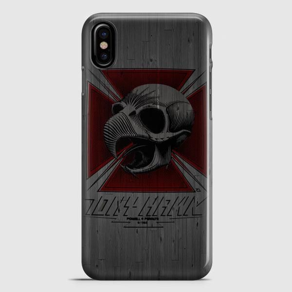 Tony Hawk Skateboard Skull Garden Logo iPhone X Case
