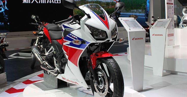 Honda mostrou a novidade mundial CBR 300R no Salão de Motos da China 2013