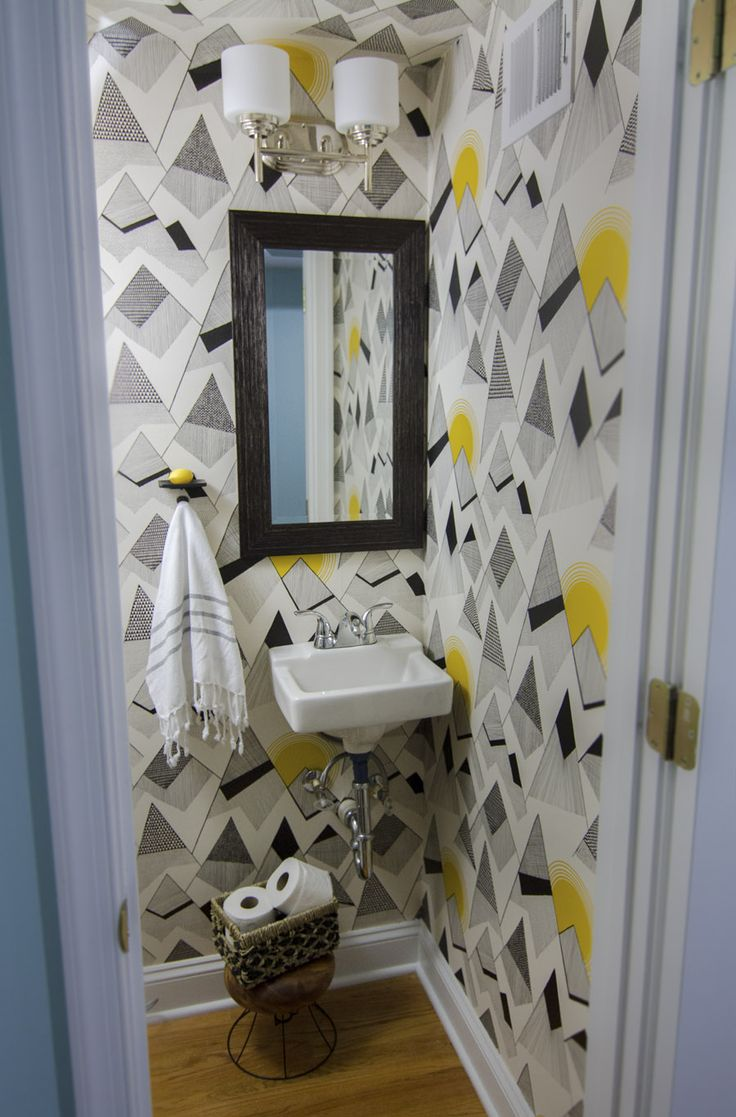 1000 images about papiers peints toilettes sur pinterest toilettes david hicks et fils. Black Bedroom Furniture Sets. Home Design Ideas