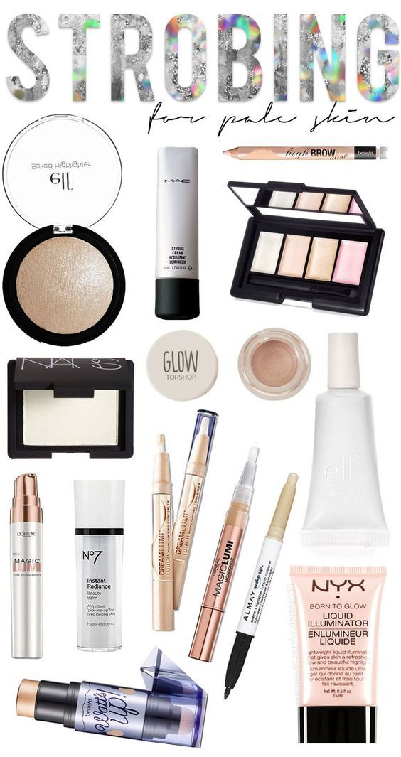 The best strobing products for pale skin! What is strobing? Strobing focuses solely on highlighter, and you're skipping the chiseled out contour of the past! | thebeautyspotqld.com.au
