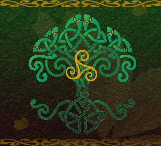 Cool Tattoo Backgrounds: Celtic Tree Of Life Wallpaper #18995 Wallpaper