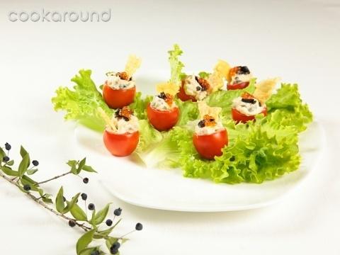 Pomodorini ripieni: Ricette di Cookaround | Cookaround