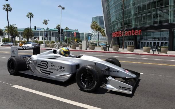 Los Angeles has signed on with the all-new Formula E racing organization to host one of the worldwide series of 10 electric car races, kicking off next year.