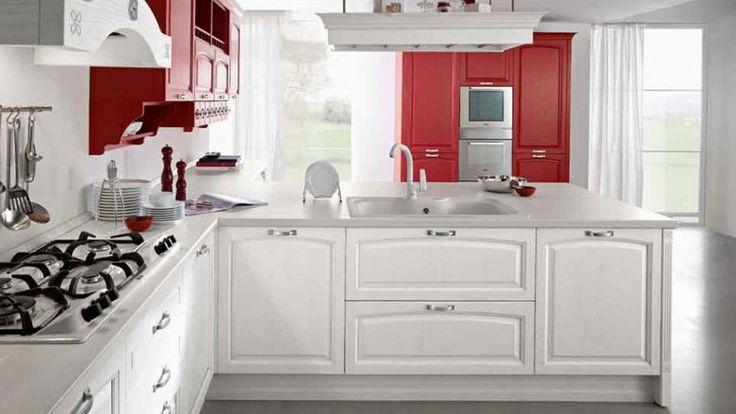 Artec Midacharme klasična kuhinja bijela drvena