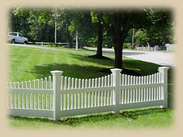 Marvelous Home Remodeling Improvement Scalloped White Picket Fence