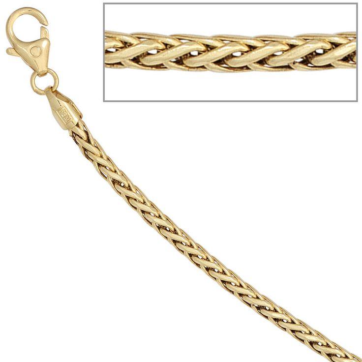 Zopfarmband 585 Gold Gelbgold 19 cm Armband Karabiner A33117 http://cgi.ebay.de/ws/eBayISAPI.dll?ViewItem&item=161834248337&ssPageName=STRK:MESE:IT