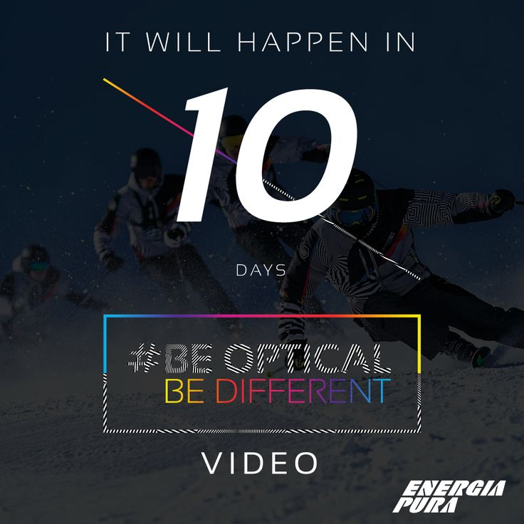 \\ #10Daystogo \\  BE OPTICAL BE DIFFERENT Official video with #MaxBlardone & #ALFAROMEO.  The new Collection is coming... ARE YOU READY?  Watch the official Trailer: Facebook: https://www.facebook.com/energiapuraofficial/videos/1409823222383686/ YouTube:https://www.youtube.com/watch?v=QK3OMq5DO-Y