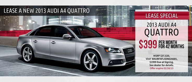 Audi A4 Lease