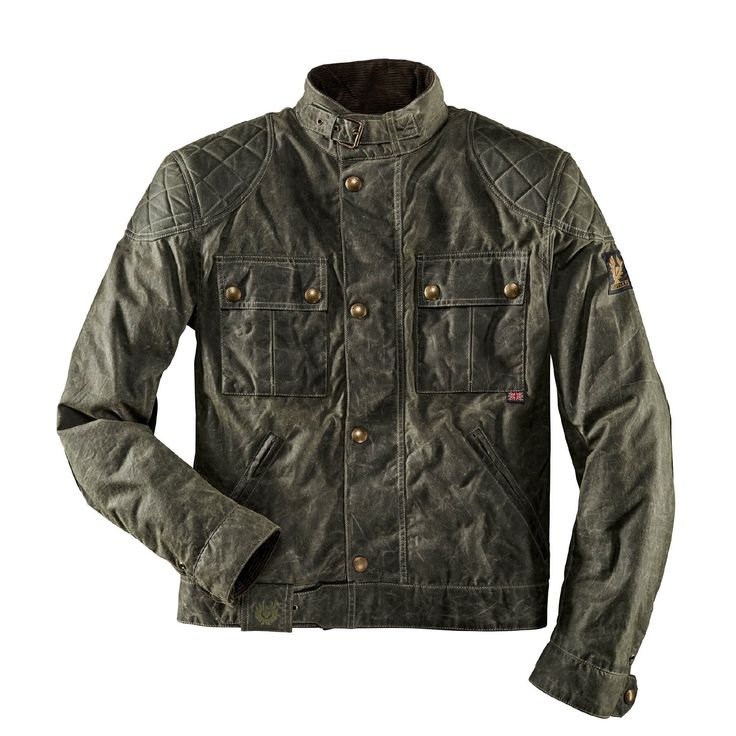 Belstaff Jacke Brooklands Green
