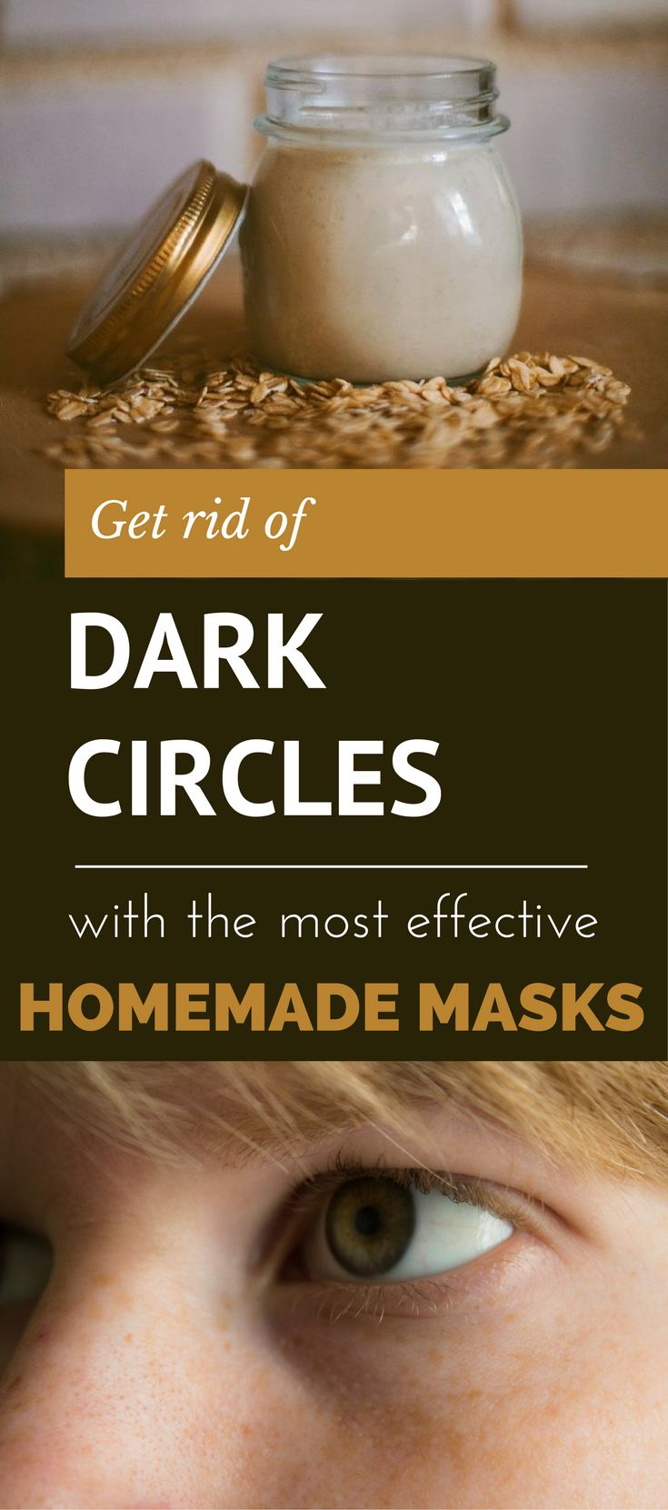 Get Rid of Dark Circles with the Most Effective Homemade Masks