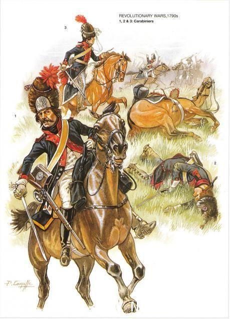 Carabinieri, 1790