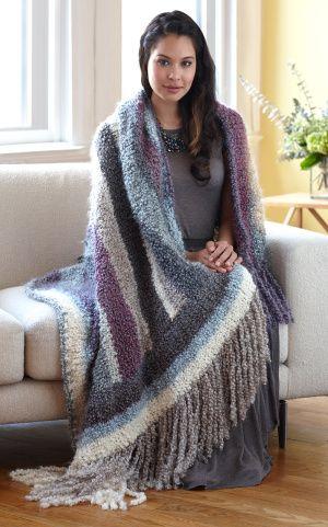 Free Crochet Afghan Patterns Using Homespun Yarn : Pinterest The world s catalog of ideas