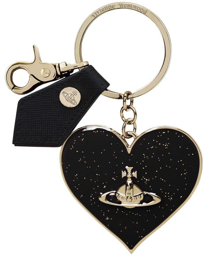Vivienne Westwood Accessories Mirror Heart Keyring | Jules B