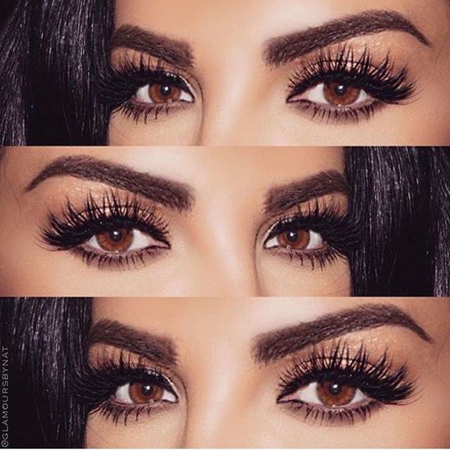 Her eyes @glamours_by_nat ❤️❤️❤️ @shophudabeauty faux mink lashes in Farah
