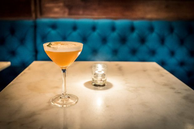 Six Cocktails from the Life Hotel's Subterranean Speakeasy Gibson  Luce: A new addition to NYC's NoMad neighborhood offers a refreshing and unexpected menu