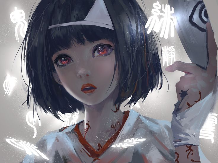 Nora - Noragami / looks like Misaki Mei from Another