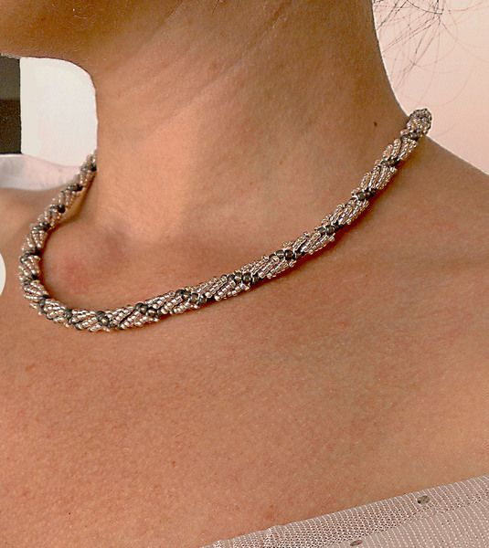Beading Beaded Necklace Jewelry  Handmade Jewelry from Jewelry exclusive  by DaWanda.com