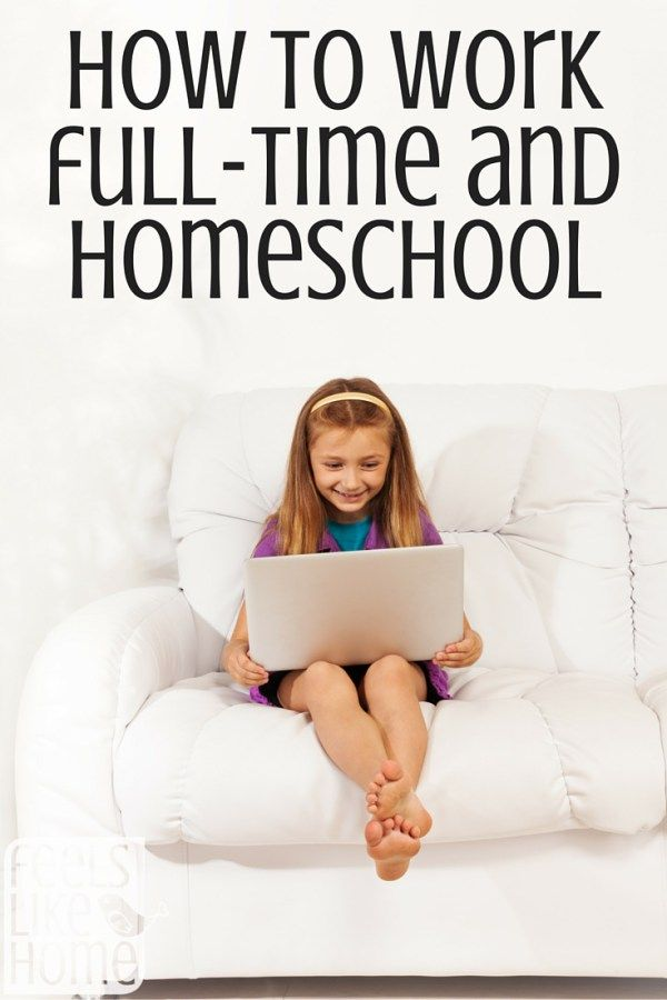 How can you work full-time and homeschool? Is it even possible? This mom says YES! It is very difficult, but it is possible. She gives lots of great tips and encouragement here.