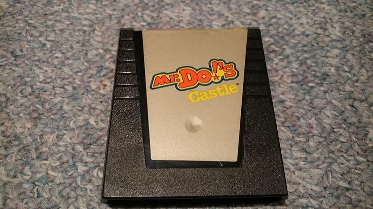 "Colecovision Game ""Mr. Do's Castle"""