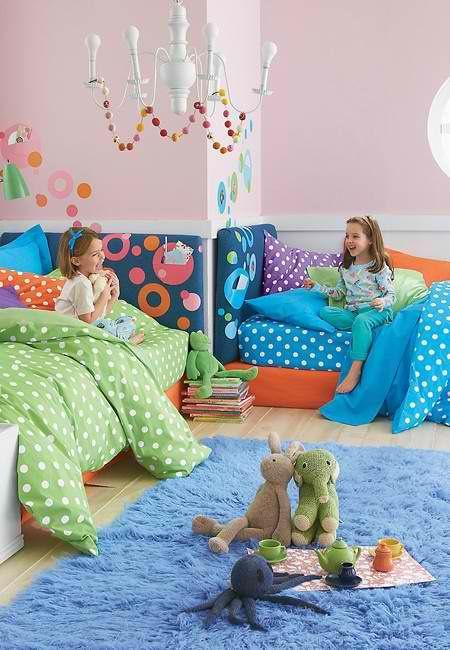 Fun With Dots For Girlu0027s Bedding #HomeOwnerBuff