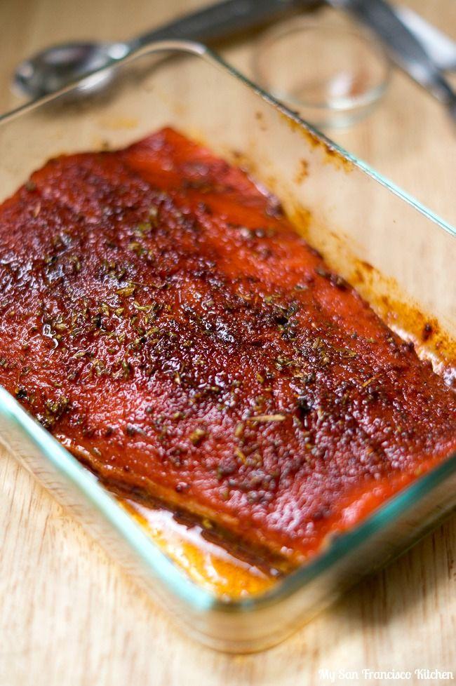 A recipe for spicy blackened cajun salmon using wild caught salmon.