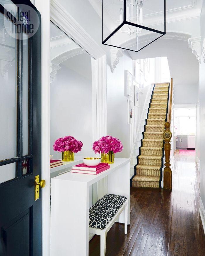Deco Couloir Blanc Amazing Ides Pour With Deco Couloir