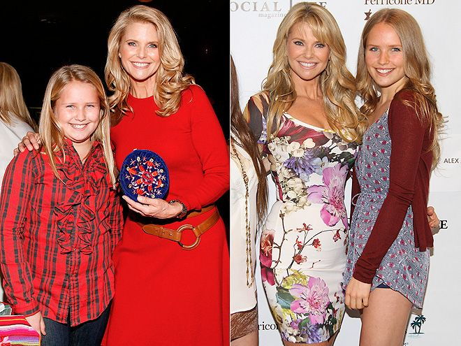 Then & Now: Celeb Kids All Grown Up! | SAILOR COOK | Then: Here in November 2009, the baby-faced tween, 11, loved to match up with mom, former supermodel Christie Brinkley, at special events.   Now: The budding photographer, 15, still likes to hit the red carpet with Brinkley (they're almost twins!), but now she's a few inches taller, has her own Twitter page and has been featured in Teen Vogue.