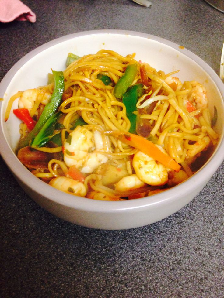 Prawn stir fry - slimming world - syn free