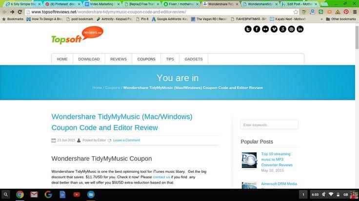 Wondershare TidyMyMusic review