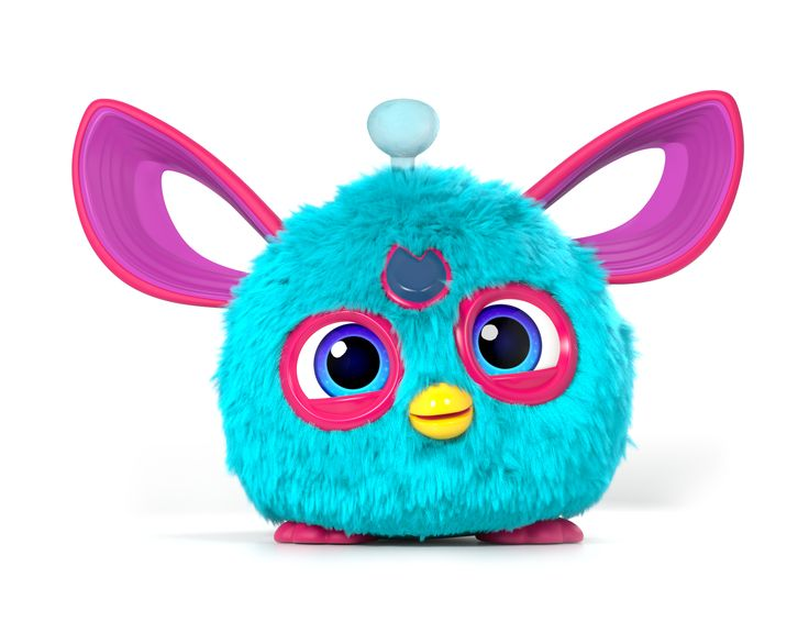 #furby #hasbro #furbling #furbyconnect    A fluffy blue furbling from the furby connect app!