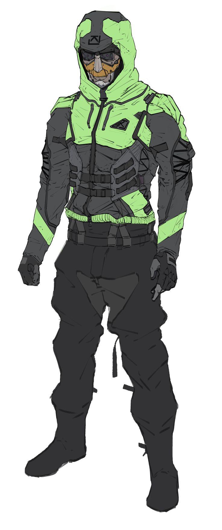 ArtStation - Tactical Suit Design Layout and Pitch, Will JinHo Bik