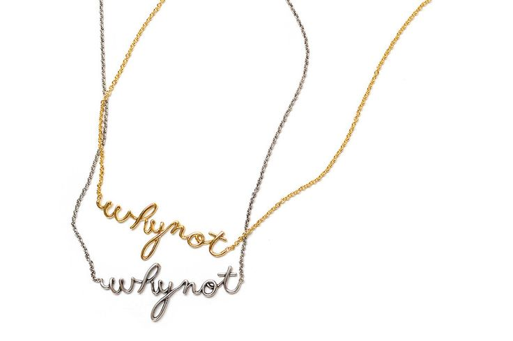 Why Not Necklace – Mr. Kate
