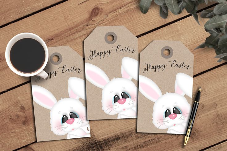 109 best graphic designs images on pinterest printable easter gift tags journal tagseaster bunnieseaster basket tag scrapbooking negle Images