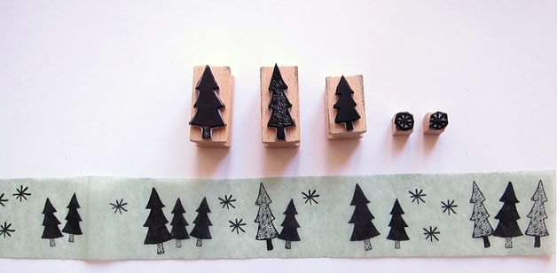 Stamp Sets – FOREST OF STARS STAMPS – a unique product by nuukk on DaWanda
