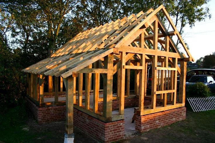 Post beam living inspirations timber frame shed plans for Post and beam construction plans