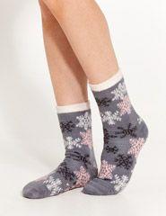 Snowflake Bed Sock